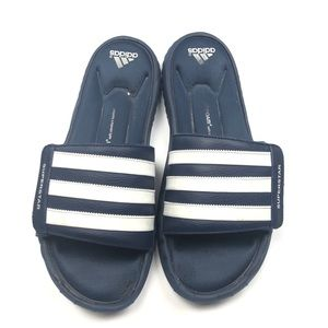 Adidas superstar flats slips